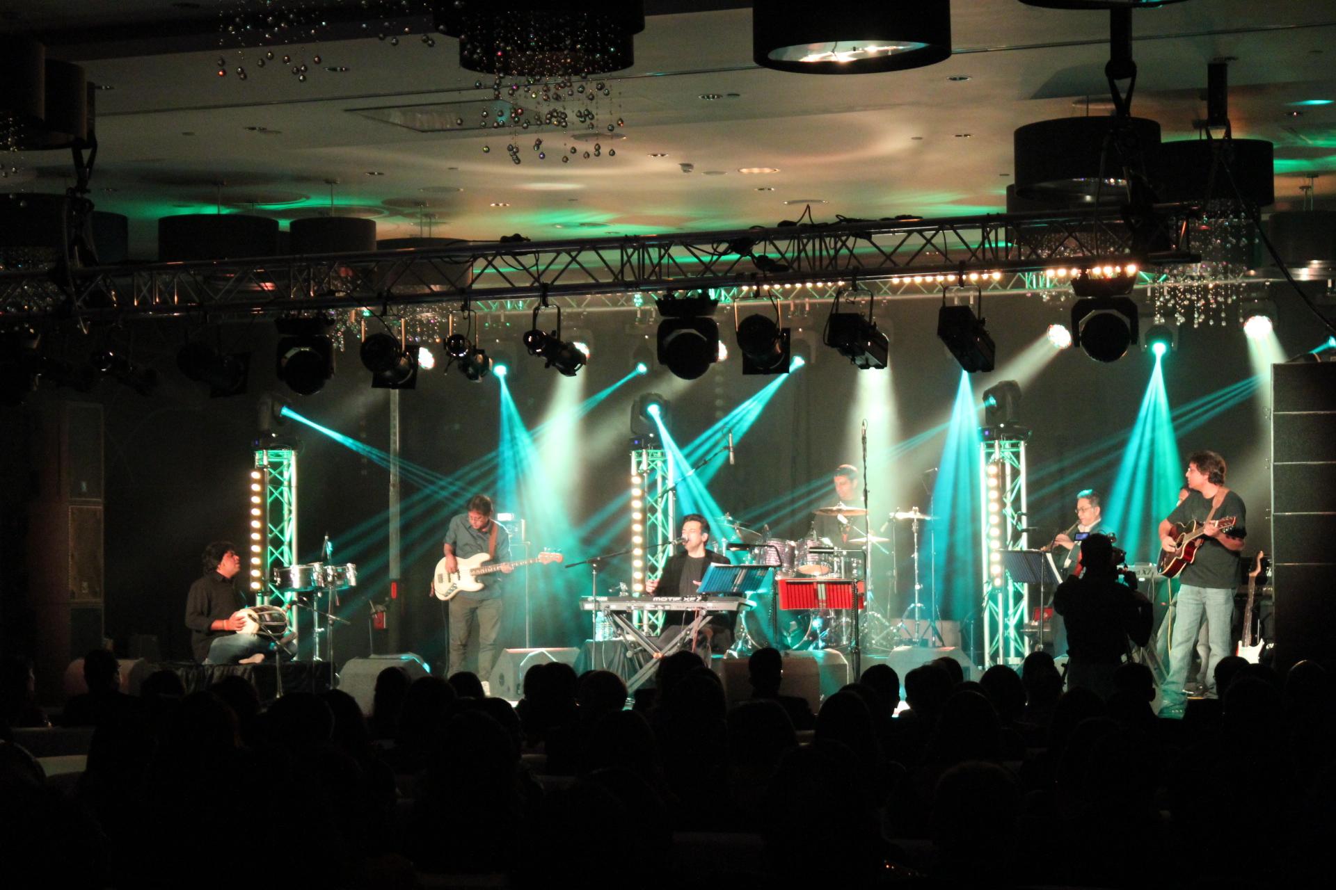 Adnan Sami performs at a Private Party
