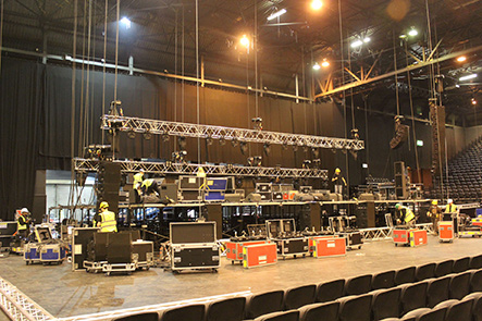 Rigging Hire From Our London Base