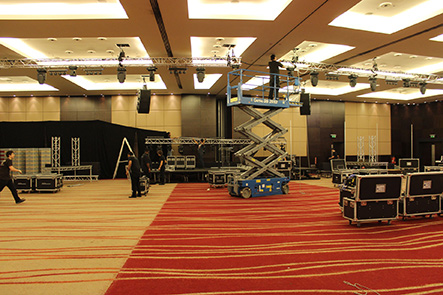 Rigging Hire in London